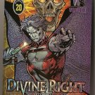 Wizard promo card Wildstorm Divine Right glossy foil card NM/M
