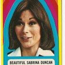 1977 Topps Charlies Angels card sticker #23 Sabrina Duncan Kate Jackson NM/M