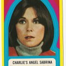 1977 Topps Charlies Angels card sticker #33 Sabrina Duncan Kate Jackson NM/M