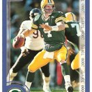 2000 Topps OVERSIZED football card #7 of 8 Brett Favre Green bay Packers NM/M