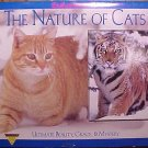 2000 The nature of CATS calendar - housecats, tigers, panthers, more!
