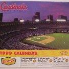1999 St. Louis Cardinals baseball calendar - Mark McGwire, Stan Musial, Willie McGee, MORE!