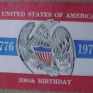 1976 United States Bicentennial paper table placements - original