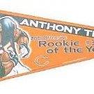 Anthony Thomas football pennant #1344 / 2002 Chicago Bears