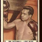 1951 Topps Ringside boxing card #23 Bob Satterfield EX