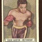 1951 Topps Ringside boxing card #37 Eugene Hairston EX