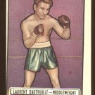 1951 Topps Ringside boxing card #38 (B) Laurent Dauthuille EX/NM