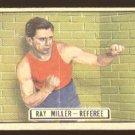 1951 Topps Ringside boxing card #64 Ray Miller VG