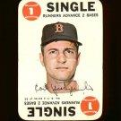 1968 Topps baseball game card #3 (B) Carl Yastrzemski VG