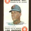 1968 Topps baseball game card #29 Rod Carew VG