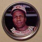 1964 Topps baseball metal coin #37 Frank Robinson VG