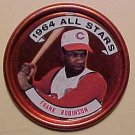 1964 Topps baseball metal coin #154 Frank Robinson All Star EX