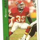 1997 Topps Football card #250 Marcus Allen Kansas City Chiefs NM/M