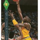 1992 Classic Four Sport basketball card #318 Shaquille O'Neal (Shaq) JWA NM/M