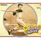 1992 Upper deck baseball card - Baseball Heroes - Ted Williams #34 NM/M
