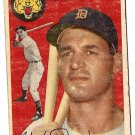 1954 Topps baseball card #18 Walt Dropo Detroit Tigers Good condition