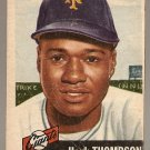 1953 Topps baseball card #20 Hank Thompson (B) Good condition, New York Giants