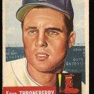 1953 Topps baseball card #49 Faye Throneberry VG-, Boston Red Sox