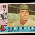 1960 Topps baseball card #54 Mike Fornieles VG/EX Boston Red Sox