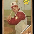 1962 Topps baseball card #41 Cliff Cook, EX, Cincinnati reds