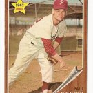 1962 Topps baseball card #181 paul Brown, EX, Philadelphi Phillies