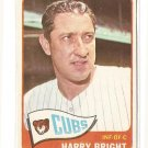1965 Topps baseball card #584 Harry Bright VG/EX Chicago Cubs