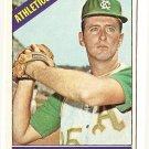 1966 Topps baseball card #18 (C) Roland Sheldon EX (very very light wrinkle) Kansas City A's