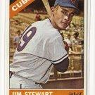 1966 Topps baseball card #63 Jim Stewart EX/NM Chicago Cubs