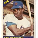 1966 Topps baseball card #87 Dan Napoleon EX New York Mets