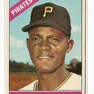 1966 Topps baseball card #112 Manny Mota EX Pittsburgh Pirates