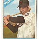 1966 Topps baseball card #190 Jimmie Hall EX Minnesota twins