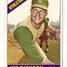 1966 Topps baseball card #201 (C) Jim Dickson NM Kansas City A's