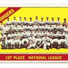 1966 Topps baseball card #238 Los Angeles Dodgers Team card NM/M