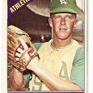1966 Topps baseball card #256 Lew Krausse NM Kansas City A's
