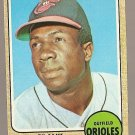 1968 Topps baseball card #500 Frank Robinson EX/Nm (miscut) Baltimore Orioles