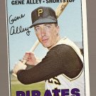 1967 Topps baseball card #283 Gene Alley NM Pittsburgh Pirates