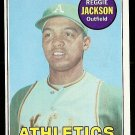 1969 Topps baseball card #260 Reggie Jackson rookie card NM/M Oakland A's
