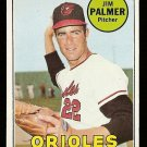 1969 Topps baseball card #573 Jim Palmer NM/M Baltimore Orioles