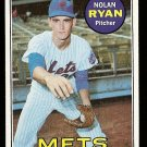 1969 Topps baseball card #533 Nolan Ryan NM (2nd year) New York Mets