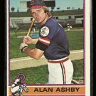 1976 Topps baseball card #209 Alan Ashby NM/M Cleveland Indians