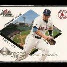 2001 Fleer Focus baseball card #2 of 15 Nomar Garciaparra NM/M Diamond Vision Boston Red Sox
