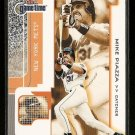 2001 Fleer Game Time (gametime) baseball card #80 Mike Piazza NM/M New York Mets