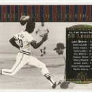 2001 Upper Deck baseball card #89 Lou Brock NM/M Hall of Records