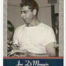 2001 Upper Deck baseball card #JD10 NM/M Joe DiMaggio Pinstripe Exclusive New York Yankees