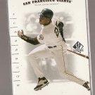 2001 Upper Deck SP Authentic baseball card #66 Barry Bonds NM/M San Francisco Giants