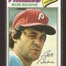 1977 Topps baseball card #545 (B) Bob Boone NM Philadelphia Phillies