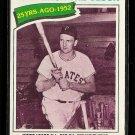 1977 Topps baseball card #437 Turn back the Clock Ralph Kiner EX/NM