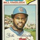1977 Topps baseball card #250 Bill Madlock NM Chicago Cubs