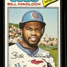 1977 Topps baseball card #250 (B) Bill Madlock NM/M Chicago Cubs