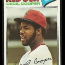 1977 Topps baseball card #235 Cecil Cooper NM Boston Red Sox